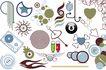 极品图标素材0026,极品图标素材,前卫设计,花儿 枝条 夜晚
