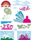 极品图标素材0038,极品图标素材,前卫设计,树木 美元 标志