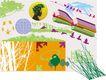 极品图标素材0040,极品图标素材,前卫设计,绿色 城市 背景