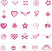 极品图标素材0055,极品图标素材,前卫设计,五角形 飘带 图形