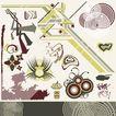 极品图标素材0058,极品图标素材,前卫设计,图形 线条 组合