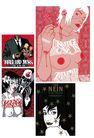 科幻广告作品0071,科幻广告作品,前卫设计,红色 乳头 白花女