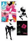 科幻广告作品0075,科幻广告作品,前卫设计,黑色 裸体 狂舞