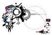 科幻广告作品0097,科幻广告作品,前卫设计,接收 电波 信号