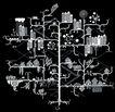 科幻广告作品0103,科幻广告作品,前卫设计,分枝 城市 布局