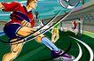 商业艺术插图0043,商业艺术插图,插画,足球 球队 射门