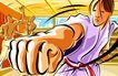 商业艺术插图0053,商业艺术插图,插画,拳头 锻炼 训练室