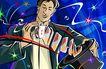 商业艺术插图0085,商业艺术插图,插画,魔术 纸牌 特技