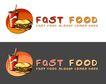 精美卡通图标0030,精美卡通图标,插画,肯德基 面包 垃圾食品