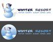 精美卡通图标0056,精美卡通图标,插画,雪人 冬天 雪景