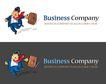 精美卡通图标0065,精美卡通图标,插画,忙人 商业 公司