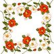 花卉边框0013,花卉边框,纹理边框,