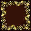 花卉边框0030,花卉边框,纹理边框,