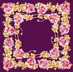 花卉边框0047,花卉边框,纹理边框,