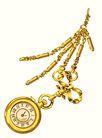 饰角素材0025,饰角素材,纹理边框,黄金 饰品 挂表 项链 配饰