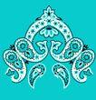 饰角素材0052,饰角素材,纹理边框,淡蓝 饰角 样式