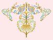 饰角素材0054,饰角素材,纹理边框,冠形 顶角 对称