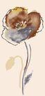 PSD花纹40105,PSD花纹4,花纹图案,淡色 水墨 粉画