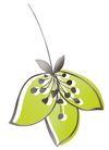 PSD花纹40111,PSD花纹4,花纹图案,花茎 细丝 垂吊