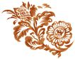 PSD花纹50051,PSD花纹5,花纹图案,花头 朝向 向阳
