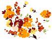PSD花纹60060,PSD花纹6,花纹图案,采摘 堆积 花丛