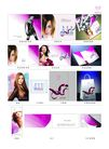 日用化工与化妆品0039,日用化工与化妆品,行业平面模板,发型 秀发 模特