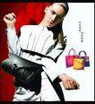 服装鞋帽皮革箱包0019,服装鞋帽皮革箱包,行业平面模板,女包 时尚丽人 跨包