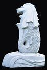 PSD雕塑60016,PSD雕塑6,雕塑,异兽 鱼尾 坐立