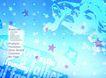 韩国新潮背景40001,韩国新潮背景4,韩国新潮背景,五角星 星空 云彩