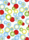 韩国新潮背景50021,韩国新潮背景5,韩国新潮背景,圈圈 彩色 泡泡 紧密 繁多