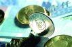货币流通0025,货币流通,金融,立起来的硬币