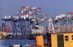 码头货轮0010,码头货轮,工业,港口 构架 工场