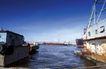 码头货轮0017,码头货轮,工业,海港 泊船 靠拢
