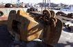 码头货轮0018,码头货轮,工业,铁链 拴住 石基