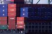 码头货轮0026,码头货轮,工业,箱子 集装箱 车尾