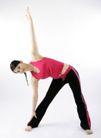 瑜珈0098,瑜珈,休闲,弯腰 锻炼 柔韧