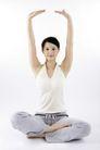 瑜珈0111,瑜珈,休闲,坐着 动作 举手