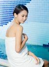女性休闲0042,女性休闲,休闲,浴巾