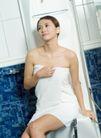 女性休闲0049,女性休闲,休闲,白色浴巾