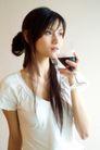 女性休闲0054,女性休闲,休闲,红酒 杯子 喝酒