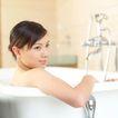美丽SPA0070,美丽SPA,休闲,坐在浴缸里