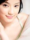美颜化妆0035,美颜化妆,休闲,腼腆微笑