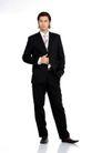 办公男性0015,办公男性,商业,手靠 西服 稍息