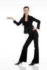 女性上班族0021,女性上班族,商业,白领 职业装 身材