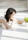 女性轻松淋浴0195,女性轻松淋浴,生活,阳光洒进房间