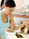 居家日常0027,居家日常,生活,厨房 女主人 日常生活