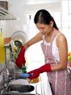 居家日常0053,居家日常,生活,放水 洗洁精 清洗
