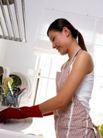 居家日常0062,居家日常,生活,围着围裙 勤快的主妇