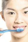 口腔卫生0076,口腔卫生,静物,刷洗 口内 清洁
