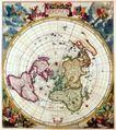 古老的地图0011,古老的地图,静物,北半球 轮廓 周围